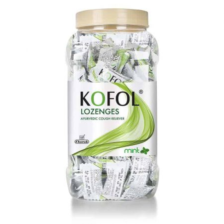 Kofol Lozenges Jar (Mint)