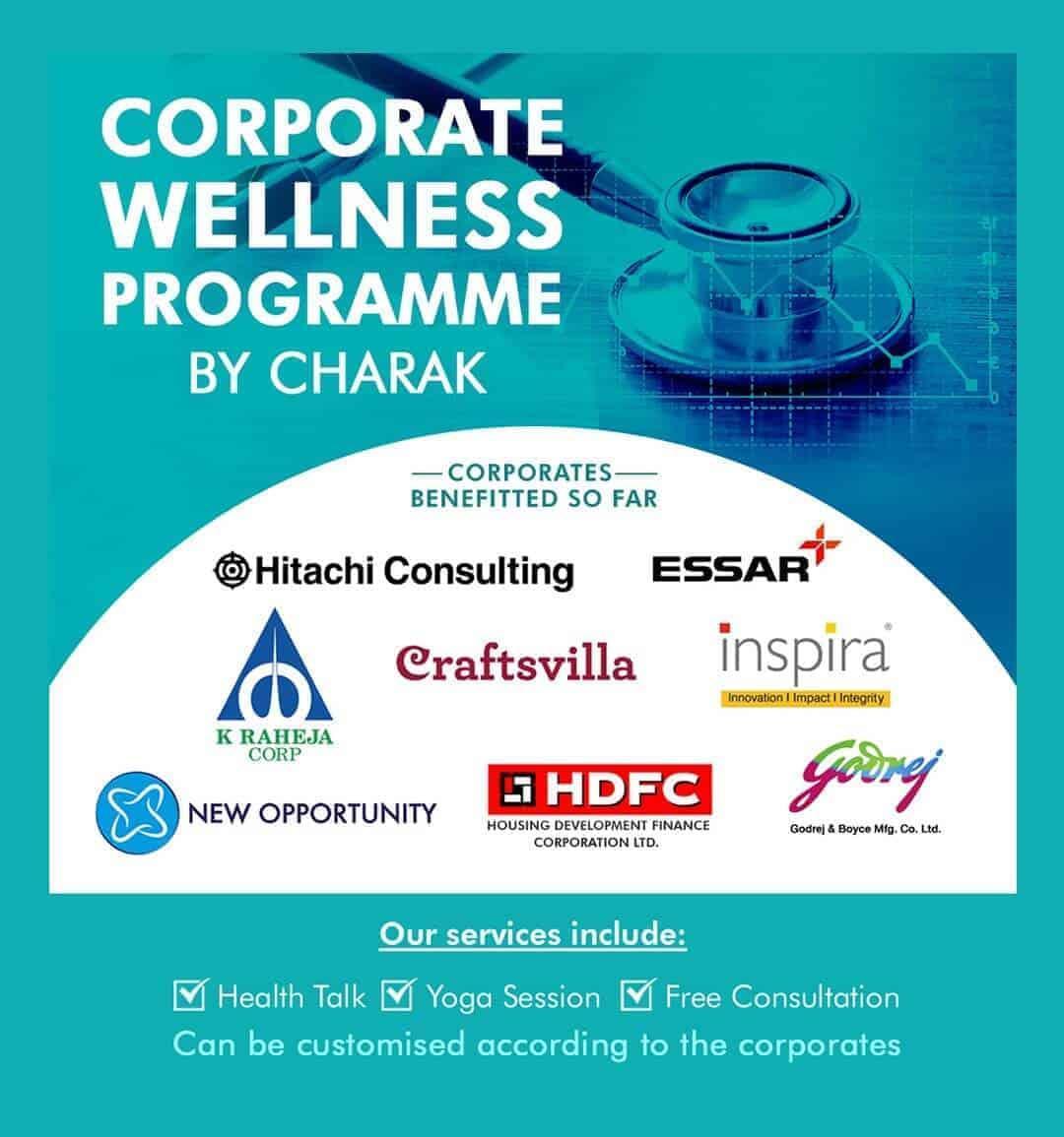 Corporate Wellness Programme by Charak Pharma