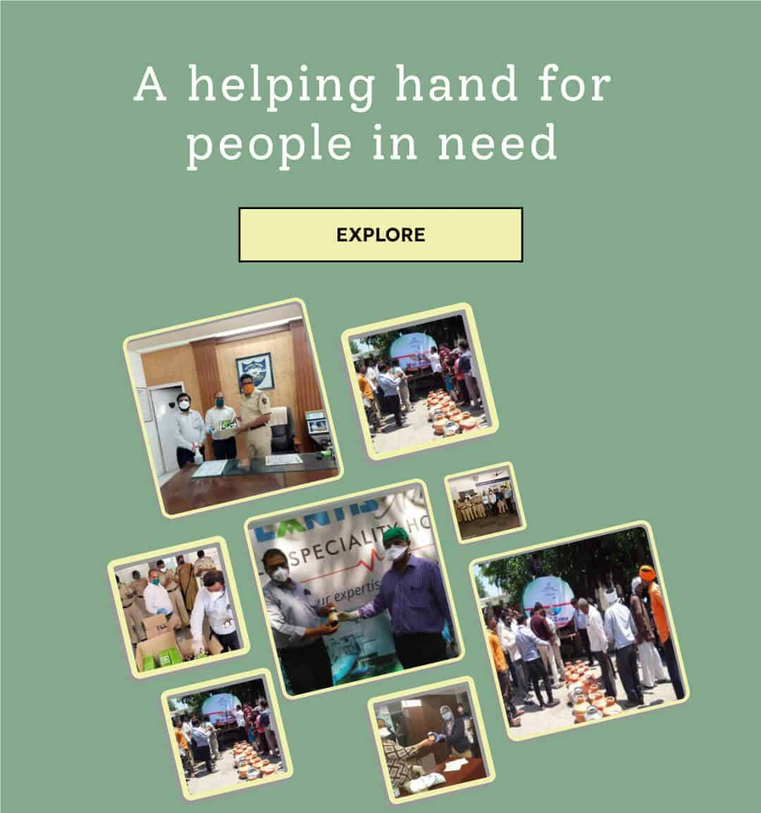 Charak Pharma - Helping Hands
