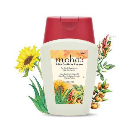 Moha Sulfate Free Herbal Shampoo