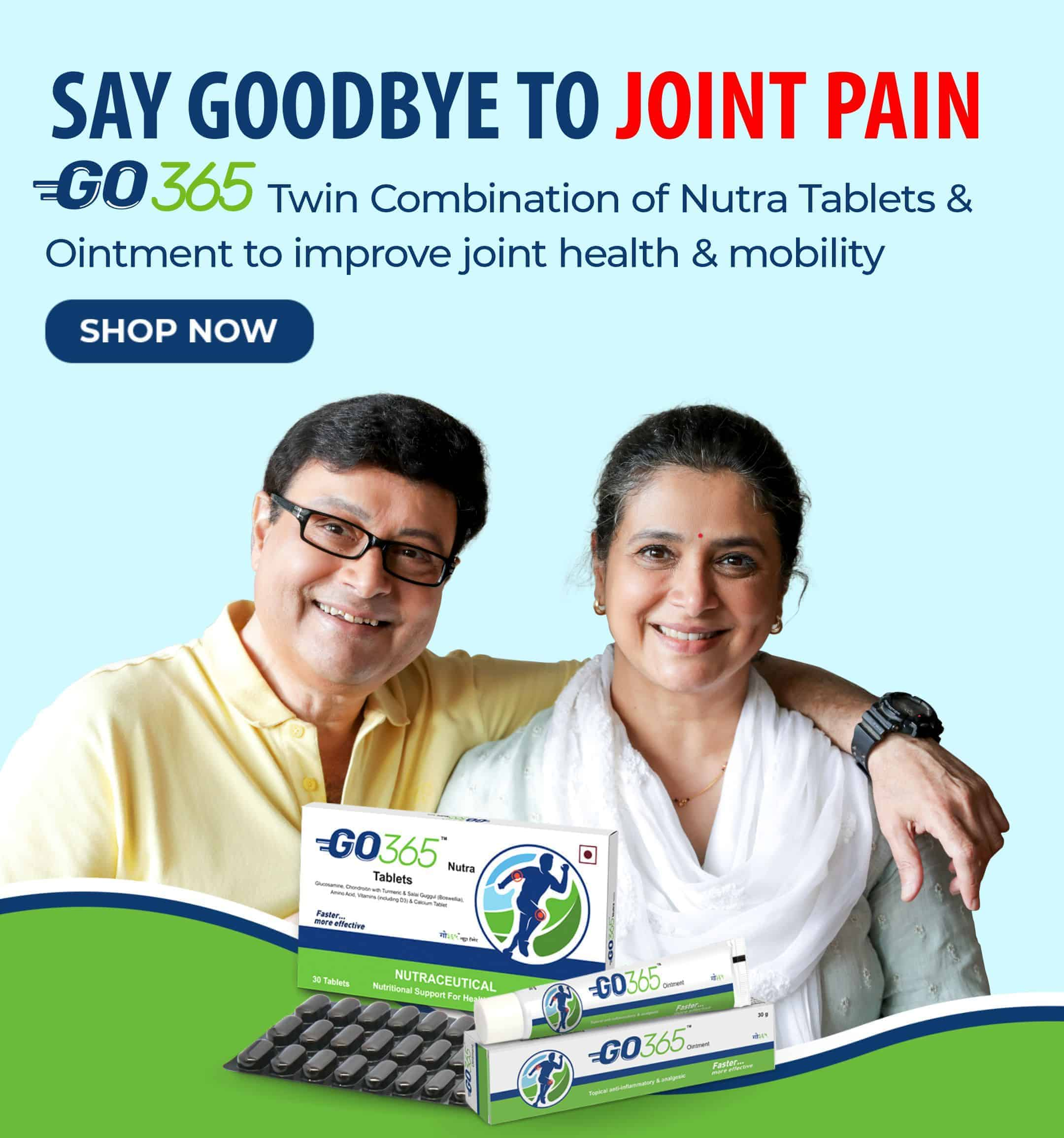 Go365 Nutra Tablets and Ointment