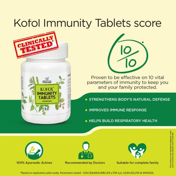 clinically tested immunity tablet