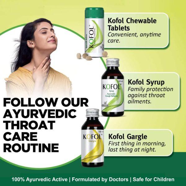 Ayurvedic sore throat care routine